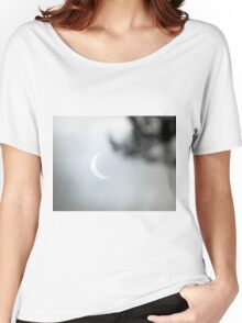 Solar Eclipse Beyond Trees Women's Relaxed Fit T-Shirt