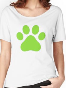 Miraculous Ladybug : Chat Noir Paw Women's Relaxed Fit T-Shirt