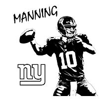 Eli Manning - New York Giants - NFL Photographic Print