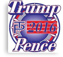 Trump Pence 2016 Canvas Print