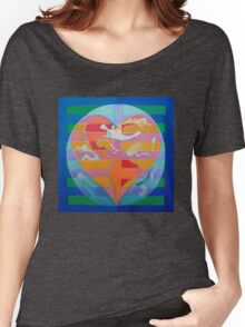 Hexagram 2: K'un (Receptive) Women's Relaxed Fit T-Shirt