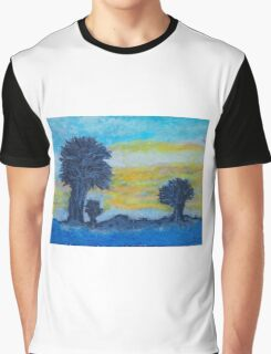 """Sunrise Over Cocoa Beach Florida"" Graphic T-Shirt"