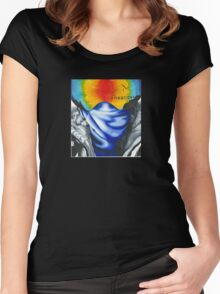 Freedom of the slopes Women's Fitted Scoop T-Shirt