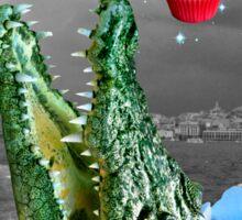 cuppa croco cakes -- rare celestial phenomenon Sticker
