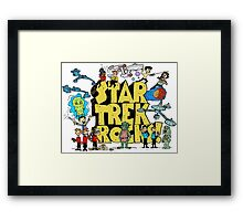Star Trek Rocks Framed Print