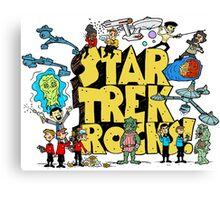 Star Trek Rocks Canvas Print