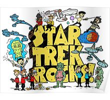 Star Trek Rocks Poster
