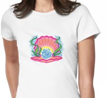The World Is Your Oyster Womens Fitted T-Shirt