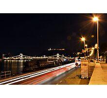Budapest Night Lights Photographic Print