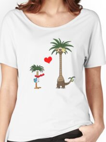 Tropical Love Women's Relaxed Fit T-Shirt