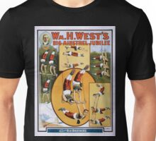 Performing Arts Posters Wm H Wests Big Minstrel Jubilee 2013 Unisex T-Shirt