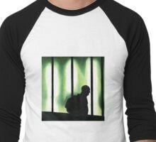 Color Pencil Rendering  Men's Baseball ¾ T-Shirt