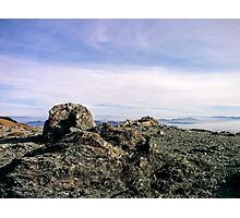Rocky view of San Francisco Photographic Print