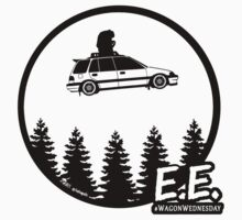 Civic Wagon E.T. sticker One Piece - Short Sleeve