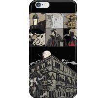 Mystery woman in red iPhone Case/Skin