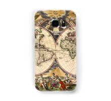 Map of the World (1672) Samsung Galaxy Case/Skin