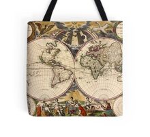 Map of the World (1672) Tote Bag