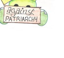 Princesses Against Patriarchy small Sticker