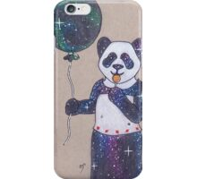 Space is a Panda iPhone Case/Skin