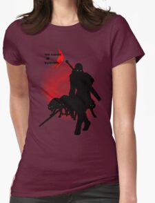 The Forces of Darkness Womens Fitted T-Shirt