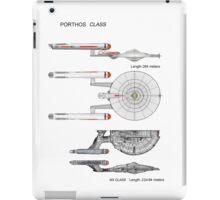 U S S Porthos  Research Class Cruiser iPad Case/Skin