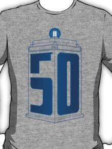 50th Anniversary TARDIS T-Shirt