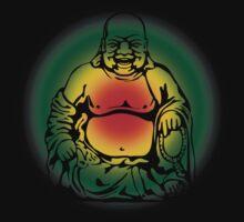 Rasta Buddha by David Sanders