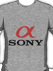 A sony T-Shirt
