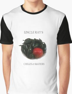 Uncle Ray's chiles and maters Graphic T-Shirt