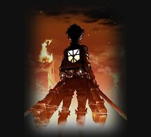 Eren Through the Flames Unisex T-Shirt
