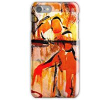 consolation while attempting chess... iPhone Case/Skin