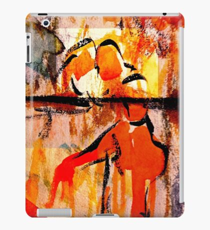 consolation while attempting chess... iPad Case/Skin