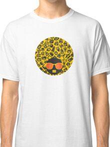 Yellow, robots Classic T-Shirt