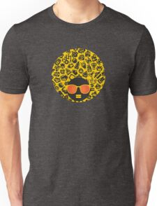 Yellow, robots Unisex T-Shirt