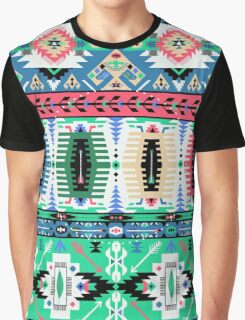 Modern Navajo Pattern Var. 15 Graphic T-Shirt