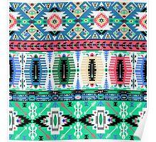 Modern Navajo Pattern Var. 15 Poster