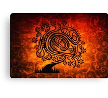 Psychedelic Tree of Life Canvas Print