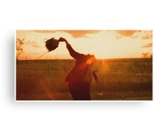 Texas Chainsaw Massacre - Swing Canvas Print