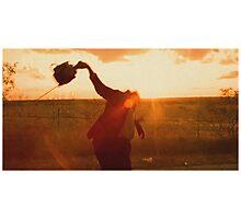 Texas Chainsaw Massacre - Swing Photographic Print