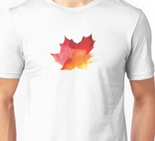 Autumn Maple Leaf Spray Unisex T-Shirt