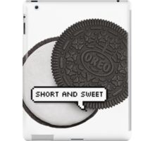 SHORT AND SWEET 2 TUMBLR iPad Case/Skin