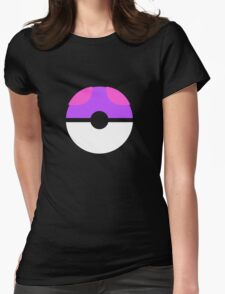 master ball Womens Fitted T-Shirt
