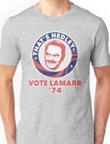 VOTE HEDLEY Unisex T-Shirt