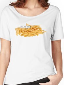 FRIES FRIES FRIES TUMBLR Women's Relaxed Fit T-Shirt