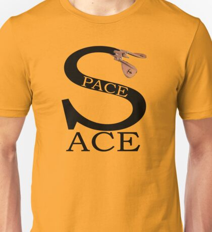 Space Ace with Renegade Merchant accent Unisex T-Shirt