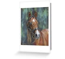 Host -Swettenham Stallion Greeting Card