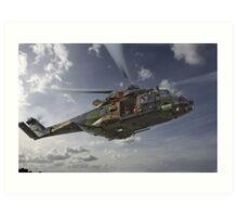 Taipan Multi Role Helicopter Art Print