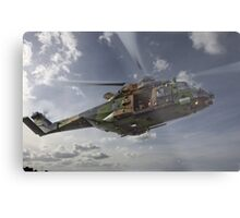 Taipan Multi Role Helicopter Metal Print