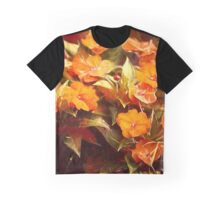 Fall Floral Graphic T-Shirt