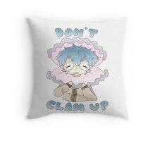Don't clam up! Throw Pillow